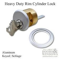 Plain Garage Door Lock Cylinder 5 Pin Brass W Schlage Keyway For Simple Design