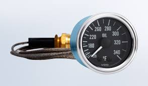 series 1 340�f oil temperature gauge with 144\