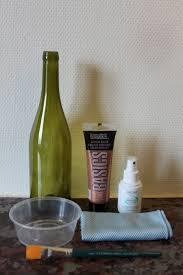 Diy Wine Bottle Labels Diy Metallic Painted Bottles Avec Weddings Events English