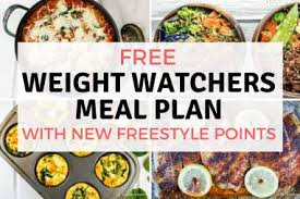 Weight Watchers Meal Plans Slender Kitchen