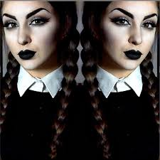 wednesday addams makeup costume