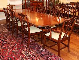 antique dining room chair sets. exceptional english regency banded mahogany dining table w 2 leaves mint antique room chair sets e