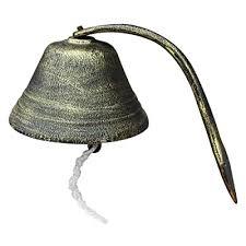 cheng iron cast door bell over