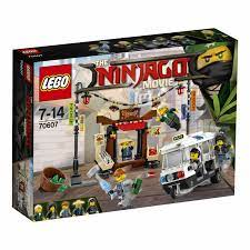 LEGO NINJAGO Verfolgungsjagd in City (70607) günstig kaufen
