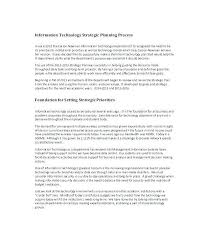 technology strategic plan example technology planning template strategic 169043600037 technology