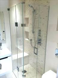 seamless glass shower stall door replacement enclosures custom doors cost s