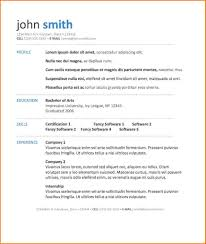 6 Free Resume Template Download Microsoft Word Skills Based Resume