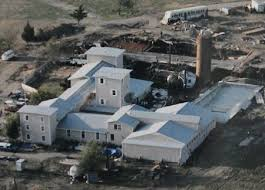 Image result for the Bureau of Alcohol, Tobacco and Firearms launch an unsuccessful raid of the Branch Davidian compound near Waco, Texas.