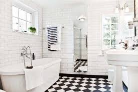 black and white tile bathroom flooring tile ideas home black and white bathroom tile