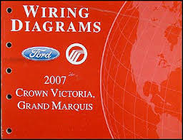 2007 crown victoria grand marquis original wiring diagram manual
