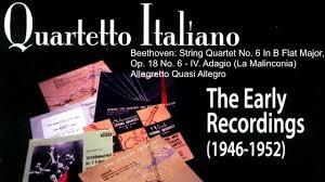 sicrea flyer beethoven string quartet no 6 in b flat major quartetto per