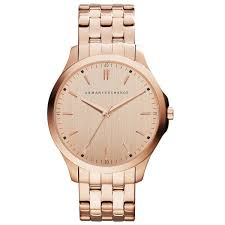 men rose gold watches best watchess 2017 men gold watches armani exchange ax2146 rose bracelet s