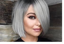 صبغات شعر رمادي لإطلالة صيفية متميزة مجلة سيدتي