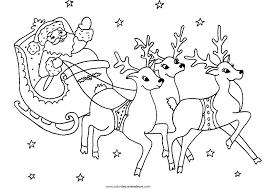 Coloriage Le Pere Noel A Imprimer L