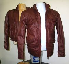 one jacket was brown one jacket re dyed to look like the other one