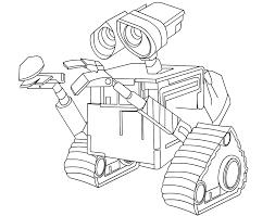 Robot Wall E Az Colorare