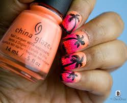 Sunset Nail Art Tutorial – DenDiva