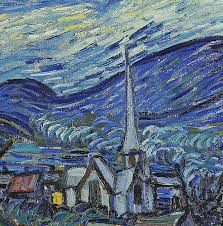 van gogh painting the starry night by vincent van gogh