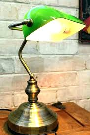 classic green desk lamp bankers green desk lamp bankers desk lamp green brass bankers green desk