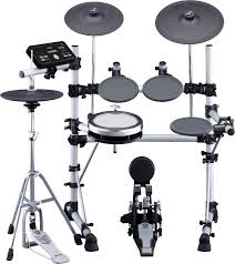 yamaha dtx. yamaha 5 piece electronic drum kit with hardware \u0026 throne - long mcquade musical instruments dtx