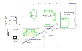 free kerala house plans below 1000 square feet