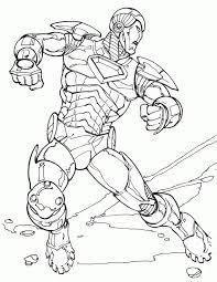 Immagini Da Colorare Iron Man 4