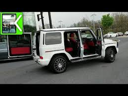 The defender also has a much lower starting price, and. 2019 Mercedes G Wagon Interior Infotainment System Red Leather Ambient Lighting Youtube