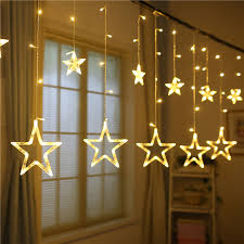 138led 8 modes star led string fairy light home window decor