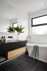 Black And White Bathroom Decor Design Ideas Alluring Diy An Paint
