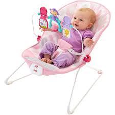 Fisher-Price Baby's Bouncer, Pink Ellipse - Walmart.com