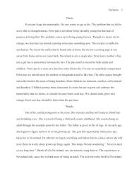 mla style essay mortality essay 2