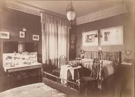 Jugendstil Schlafzimmer Einrichtung Besuchszimmer Eines Badischen