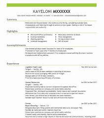 Team Leader Experience Resume Download Team Leader Resume  Haadyaooverbayresor and Team Leader Resumes