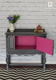 paint colors for furniture. sideboard with a pop of color pink furniturerefinished furniturepainting paint colors for furniture