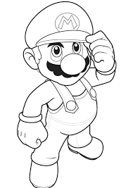 Cool Coloring Pages Of Mario Coloring Pages Mario Odyssey Coloring