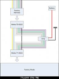 scosche amp wiring diagram stereo help jeep wrangler forum the power wires and and the can wires and bridge directly