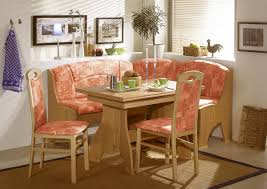 Dining Room, Cool Wood Floor Thought Also Colorful Chairs Layout Job Ultra  Modern Breakfast Corner