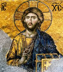 christ pantocrator ruler of the universe mosaic from the deesis panel of the