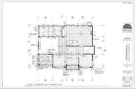 Floor Framing Design Upper Floor Main Roof Framing Plan Monsef Donogh Design