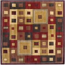 area rug rugs square 6 x 8 wool 8x8 ft