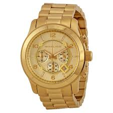 michael kors mens gold watches uk best watchess 2017 mk watches for s best collection 2017 michael kors men s runway gold chronograph watch mk8077