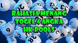 Rahasia Menang Togel 4 Angka HK Pools - Syair Togel
