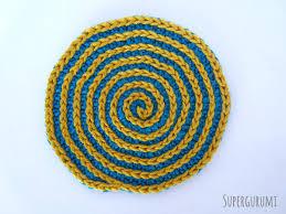 Circle Crochet Pattern Simple Decoration