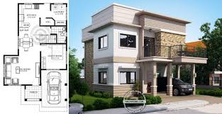 4 Storey House Design With Rooftop Juliet 2 Storey House With Roof Deck Engineering Discoveries