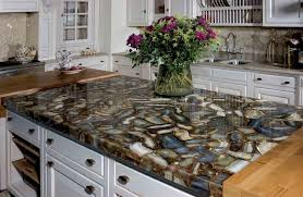 Natural stone kitchen countertops Crushed Glass Great Natural Stone Kitchen Countertops Quartz 3141 Home Unique Stone Concepts Stones For Kitchen Countertops How To Make The Kitchen From Stone