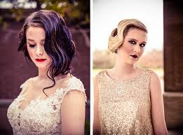 roaring 20s wedding hair makeup inspiration at esplanade memphis photos by lyndsi metz photography