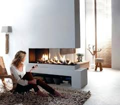 three sided gas fireplace s 3 for