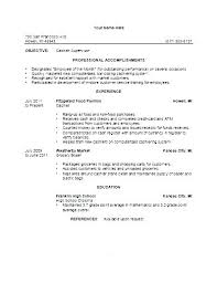 Resume Examples For Cashier This Is Example Of Cashier Resume
