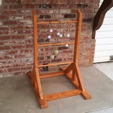 diy ladder golf elegant i made a ladder ball set last night out of s wood
