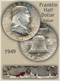 1949 Franklin Half Dollar Value Discover Their Worth